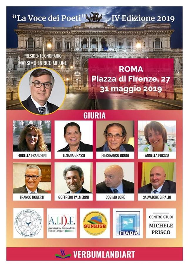 Premio La Voce dei Poeti | Roma 31.05.2019
